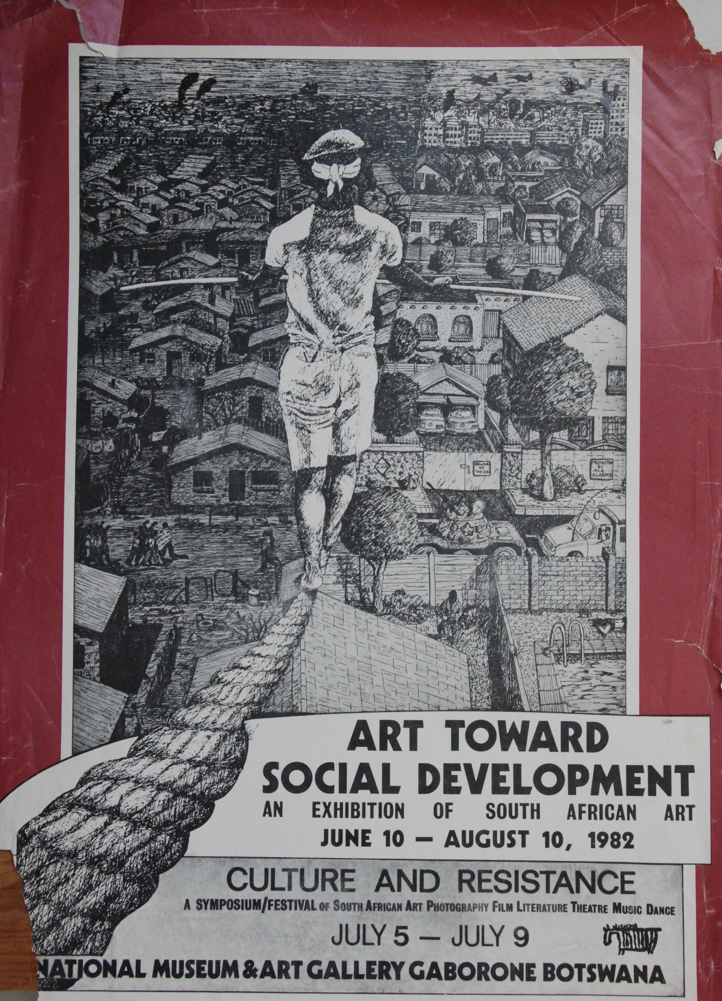 Culture and Resistance Poster 1982