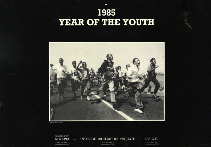 Year of the Youth Calendar 1985