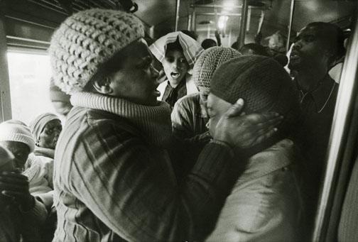 Santu Mofokeng's Train Culture 1987
