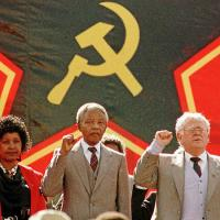 The Mandelas and Joe Slovo