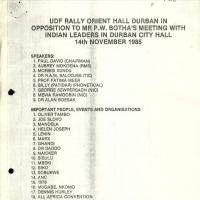 UDF Rally Orient Hall image