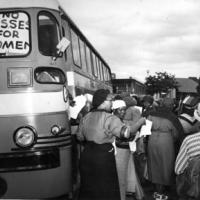Women organizing themselves for the anti-pass protest campaign